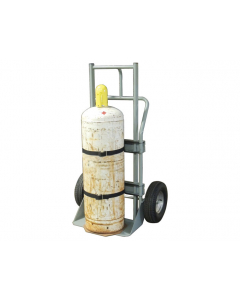 Single Cylinder Hand Truck, 16 Inch Pneumatic Wheels - #35010