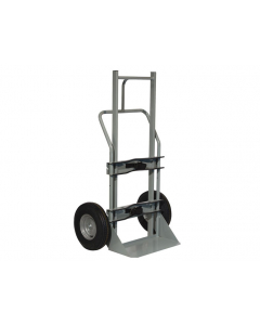 Single Cryogenic Cylinder Hand Truck, 10 Inch Flat-Free Wheels - #35012