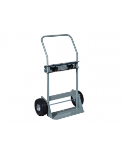 Double Cylinder Hand Truck, Flat-Free Wheels - #35030
