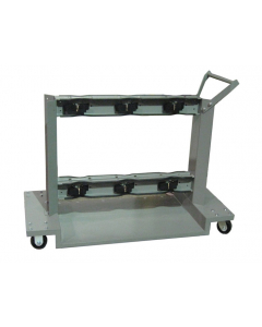 Gas Cylinder Cart, 6 Cylinder Capacity - #35058