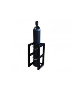 1W X 1D Gas Cylinder Barricade Rack | For 1 Cylinder- #35080