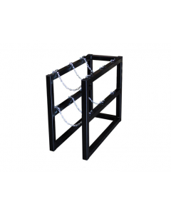 1W X 3D  Gas Cylinder Barricade Rack | For 3 Cylinders- #35090