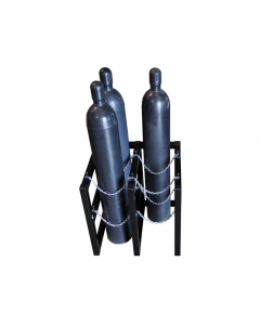 2W x 2D Gas Cylinder Storage Rack  | For 4 Cylinders- #35106