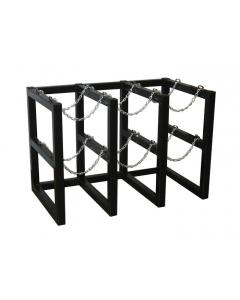 3W x 2D Gas Cylinder Storage Rack | For 6 Cylinders - #35128