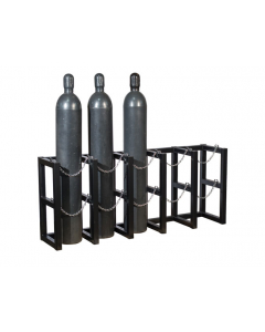 5W x 1D Gas Cylinder Storage Rack |  For 5 Cylinders - #35166