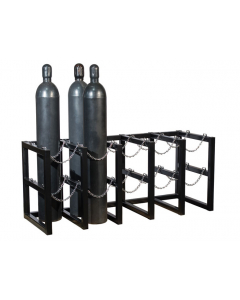 5W x 2D Gas Cylinder Storage Rack | For 10 Cylinders- #35172