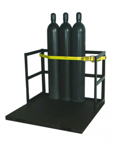 End Loaded Gas Cylinder Pallet for 21 Cylinders - #35218