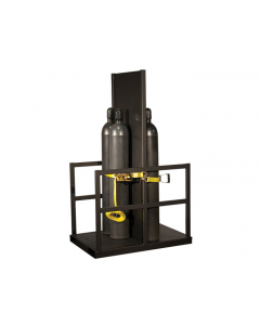 Gas Cylinder Pallet with Firewall for 12 Cylinders- #35222