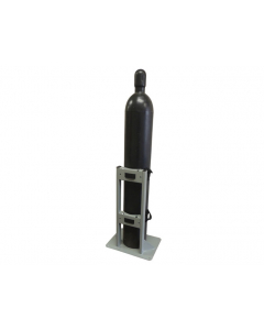 Gas Cylinder Stand, 1 Cylinder Capacity, Steel - #35278