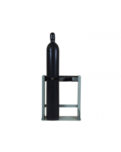 Gas Cylinder Stand, 2 Cylinder Capacity, Steel - #35288