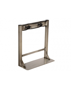 Gas Cylinder Stand, 2 Cylinder Capacity, Stainless Steel - #35290