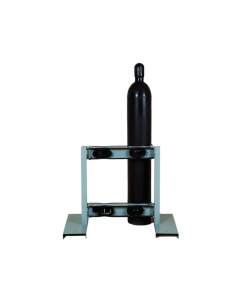 Gas Cylinder Stand, 4 Cylinder Capacity, Back-to-Back, Steel - #35296
