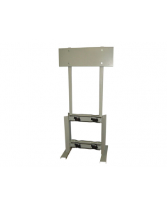 Gas Cylinder Process Stand, 4 Cylinder Capacity, Back-to-Back, Steel - #35312
