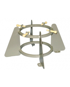 Medical Oxygen Cylinder Holder, 1 Cylinder Capacity, 5.75 to 6.75 Inch Diameter - #35328