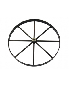 Steel Wheel for Gas Cylinder Hand Trucks, 20 Inch - #35392