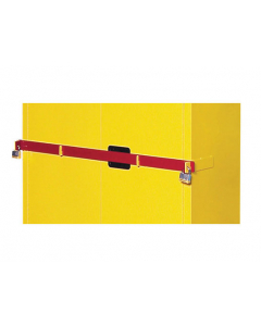 45 Gal Red Replacement Security Bar for Hi Security Safety Cabinet- #50961R
