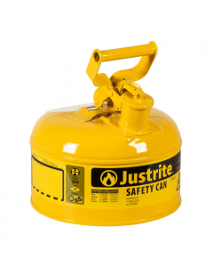 Type I Steel Safety Can for Diesel 1 gallon, Yellow - #7110200