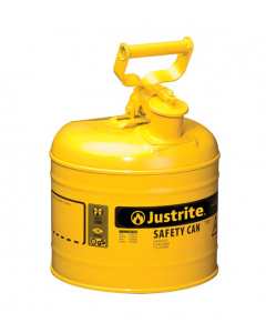 Type I Steel Safety Can for Diesel, 2 gallon, Yellow - #7120200