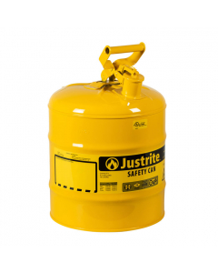 Type I Steel Safety Can for Diesel, 5 gallon, Yellow - #7150200