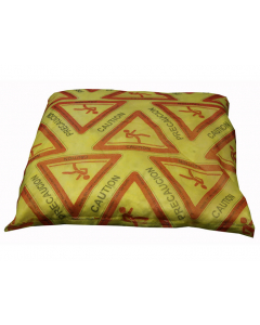 HiVis print HazMat Pillow, 18-in x18-in, 10 count - #83522