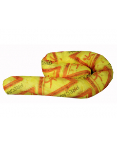 HiVis print HazMat Sock, 3-in x 4-ft, 40 count - #83523