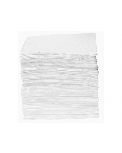 Recycled Oil Only Pads, Heavy weight, 15 in x 18 in, bagged, 100 count - #83563