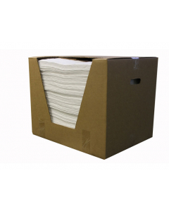 Oil Only Recycled pads, Heavy weight, 15 in x 18 in, boxed, 100 ct - #83577