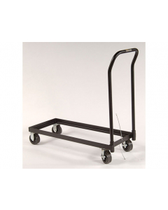 Rolling Cart for relocating cabinet, poly caster wheels, fits 30-gal. or Piggyback safety cabinets - #84001