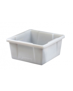 HPLC Can Spill Basin with 5 gallon spill capacity, polyethylene, translucent - #84003