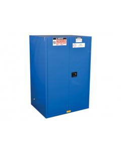 Sure-Grip® EX Hazardous Material Steel Safety Cabinet,  90 gallon,  2 self-close doors, Royal Blue - #869028