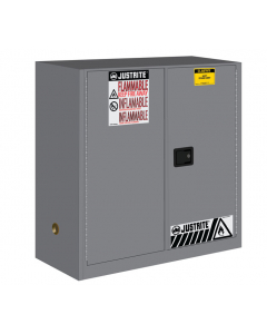 Sure-Grip® EX Flammable Safety Cabinet, 30 gallon, 2 self-close doors, Gray - #893023