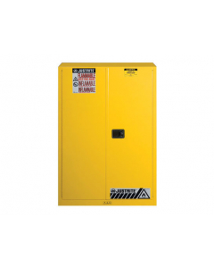 45 gallon Flammable Safety Cabinet, 2 Manual Close Doors - Sure-Grip® EX