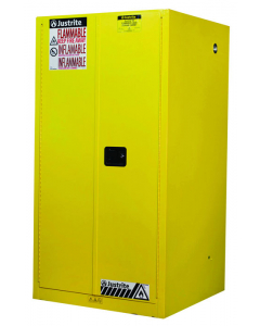 Sure-Grip® EX Flammable Safety Cabinet,  60 gallon, 2 manual-close doors, Yellow - #896000