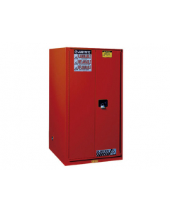 Sure-Grip® EX Combustibles Safety Cabinet for paint and ink, 96 gallon, 2 manual close doors, Red - #896011