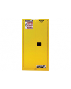 Sure-Grip® EX Flammable Safety Cabinet, 60 gallon, 2 self-close doors, Yellow - #896020
