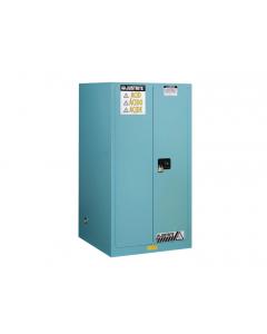 Sure-Grip® EX Corrosives/Acid Steel Safety Cabinet, 90 gallon, 2 self-close doors, Blue - #899022