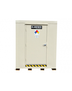 2-Hour Fire-Rated Outdoor Safety Locker, 9-Drum, Explosion Relief Panels - #912091