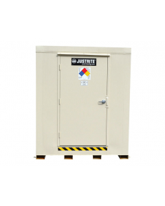 4-Hour Fire-Rated Outdoor Safety Locker, 2-Drum, Explosion Relief Panels - #913021