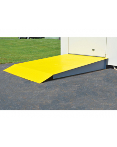 Steel Loading Ramp for 4 through 16 Drum (105 through 506 Cu Ft) Lockers - #915003