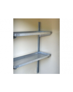 Shelving, 2-Tier for 2 and 4 Drum Lockers - #915101