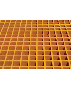 Fiberglass Floor Grating with Sump Liner, 2 Drum Locker - #915201