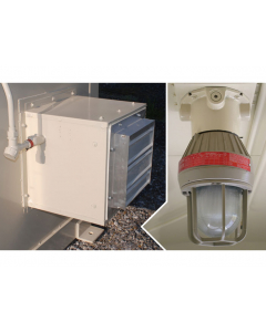 Electrical Package, Explosion Proof Interior Light and Fan, 50 Hz - #915502