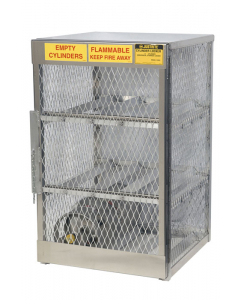 Gas Cylinder Locker for 6 Horizontal 20 to 33 lb. Cylinders - #23002