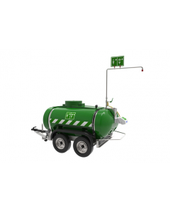 Hughes Mobile Self-Contained Emergency Safety Shower, Immersion Heated, 528 Gallon, 110V GP - #MHW2000-1