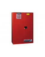 Sure-Grip® EX Combustibles Safety Cabinet for paint and ink, 60 gallon, 1 bi-fold door, Red - #894591