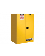 Sure-Grip® EX Flammable Safety Cabinet, 90 gallon, 2 self-close doors, Yellow - #899020