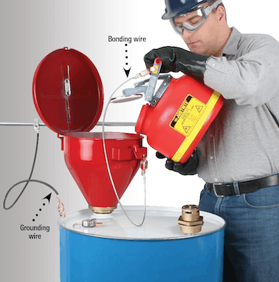 Workplace Safety Articles and News - Six Tips for Managing Flammable  Liquids in Drums - Justrite