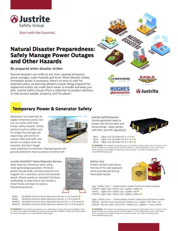 Natural Disaster Prep
