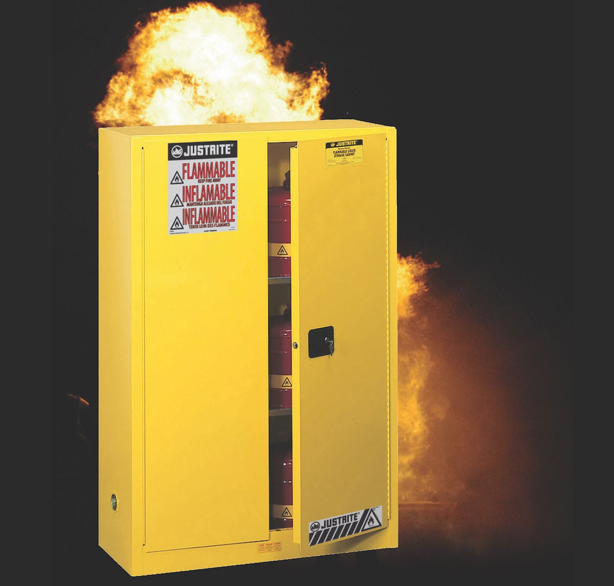 The Pallet Provides Wood Fuel To Burn. If The Pallet Fails In A Fire, The  Cabinet Could Topple, Contributing Exponentially To The Fireu0027s Potential.
