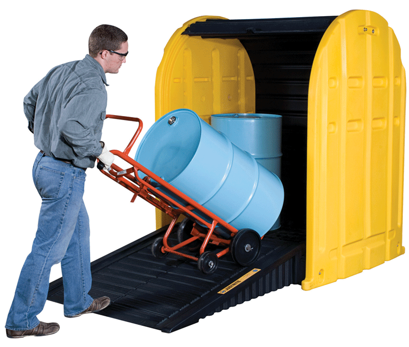 safe-outdoor-chemical-drum-storage